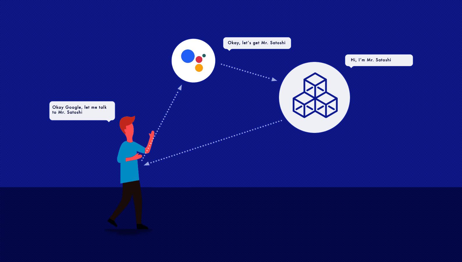Google asistan sunucu konuşmaları