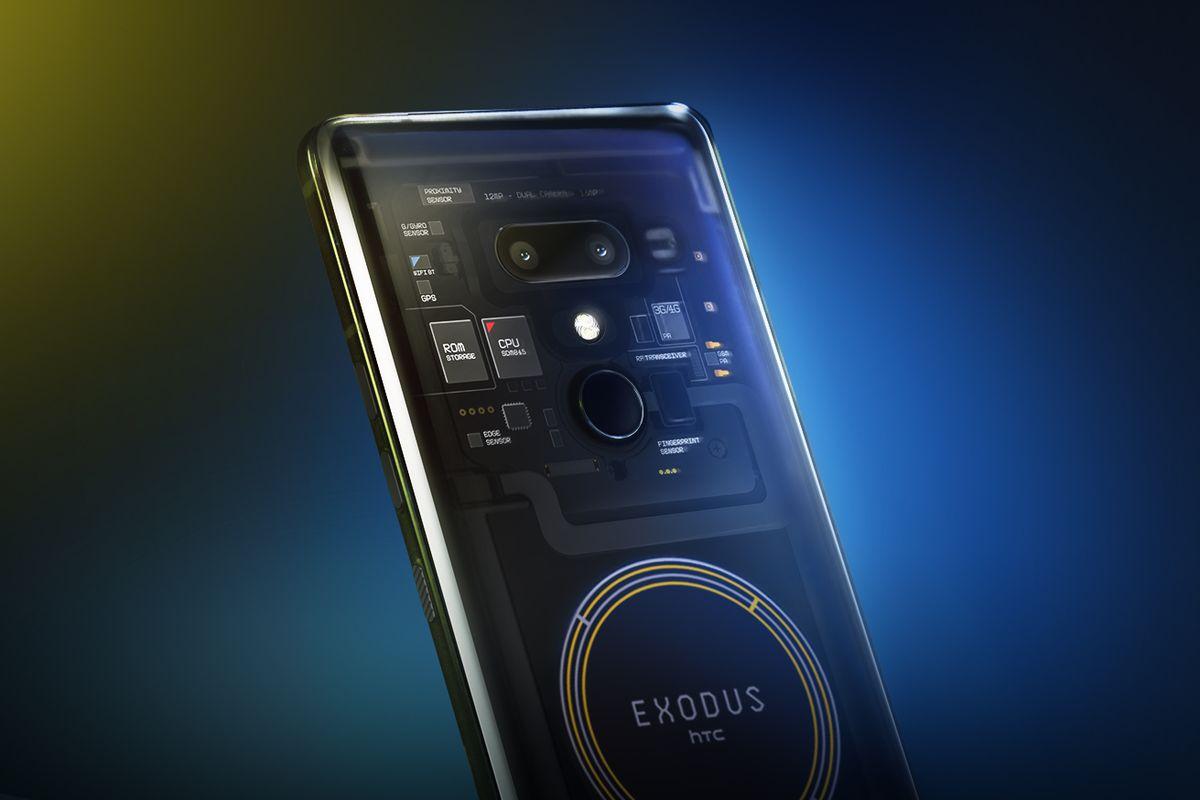 HTC'nin Blockchain Tabanlı Yeni Telefonu Exodus 1