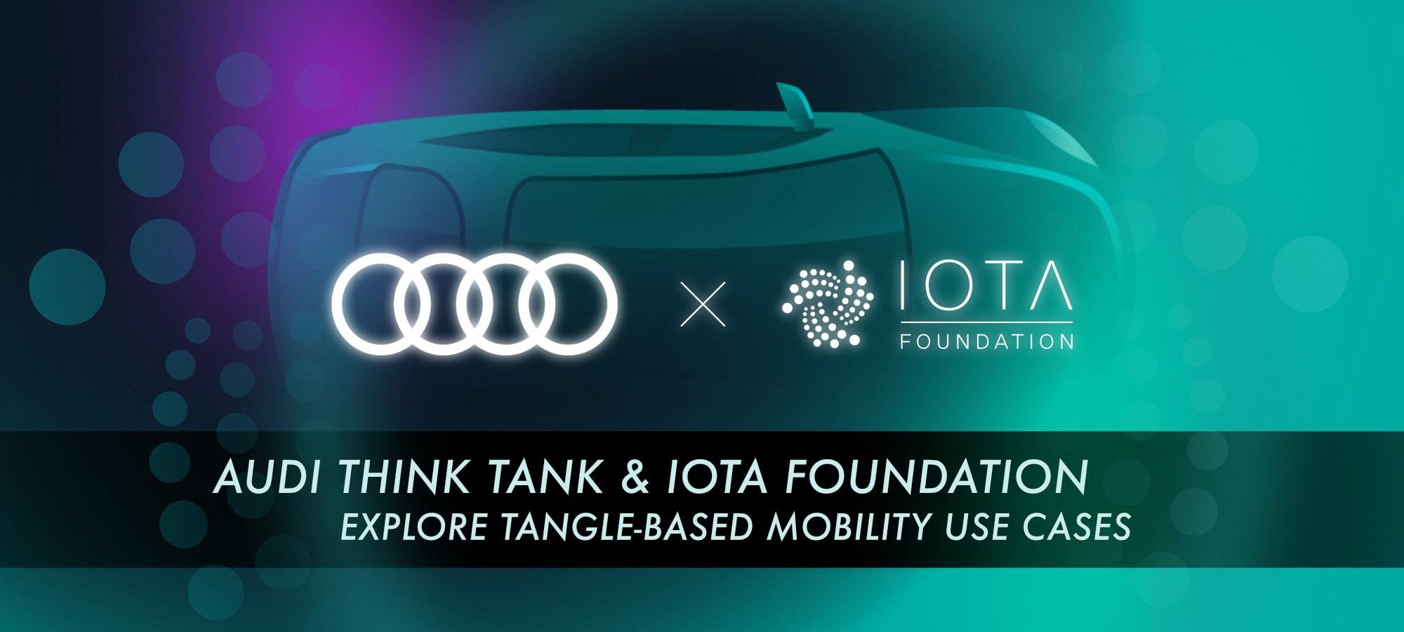 IOTA Audi İşbirliği