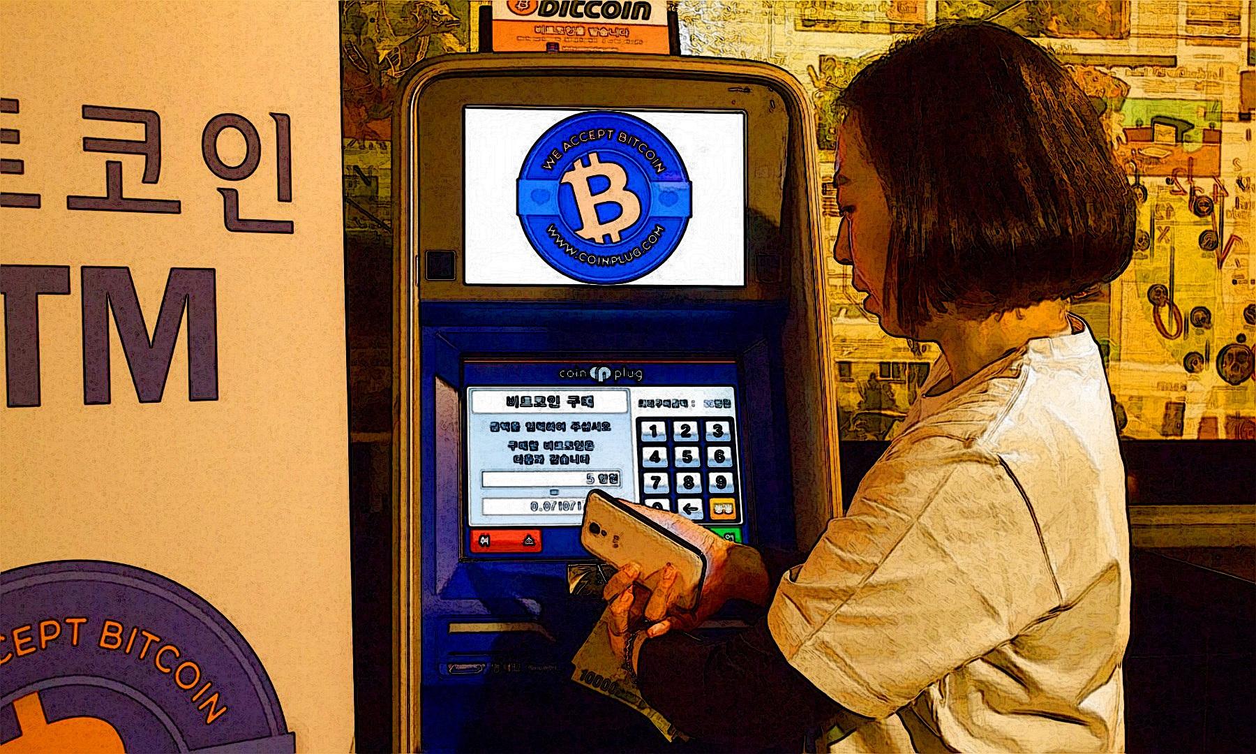 Avusturalya'da ki Bitcoin Atm leri Haftada 360.000$ Kazandırıyor