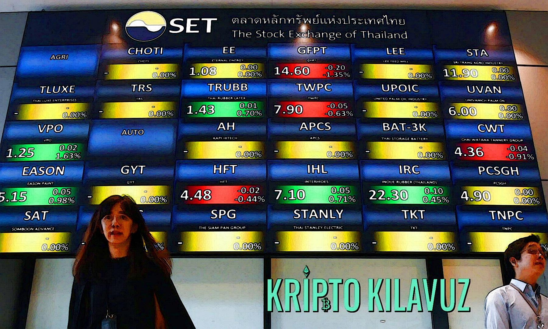 Tayland Menkul Kıymetler Borsası Dijital Varlık Değişimine Hazırlanıyor