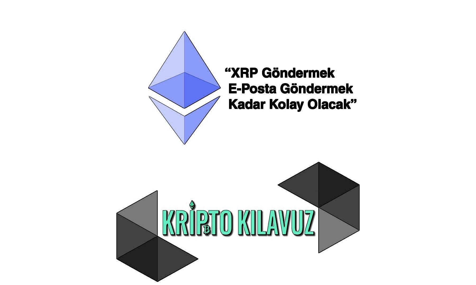 """""""XRP Göndermek E-Posta Göndermek Kadar Kolay Olacak"""""""