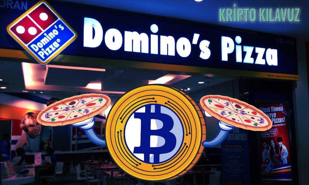 Artık Bitcoin İle Domino's Pizza Alınabiliyor