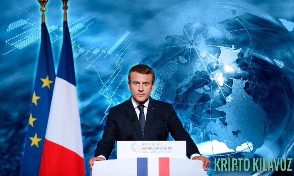 Fransa Cumhurbaşkanı Ülkede Blockchain İstiyor!