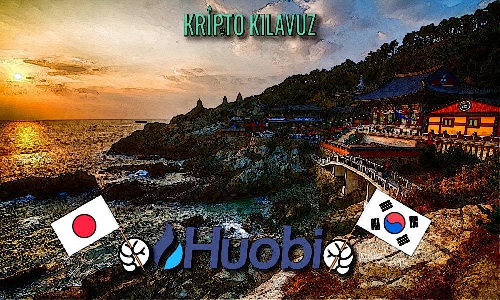 Huobi Wallet Japonca ve Korece Sürümlerini Piyasaya Sürüyor