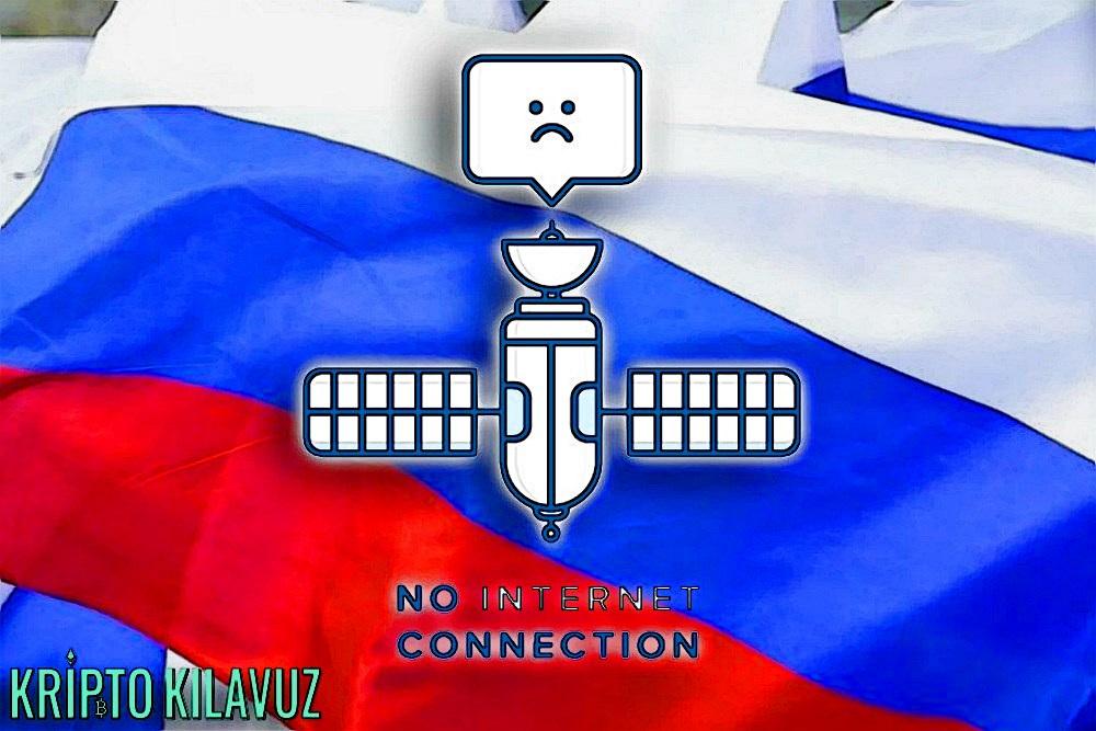 Rusya'dan İnternetin Kapatılması Testi