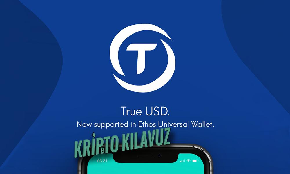 TrueUSD (TUSD) ABD Doları Desteğini Geliyor!
