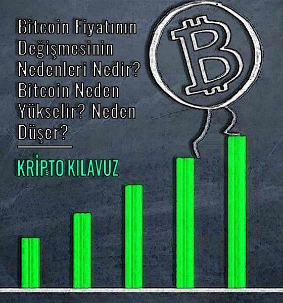 Bitcoin Fiyatının Değişmesinin Nedenleri Nedir? Bitcoin Neden Yükselir? Neden Düşer?